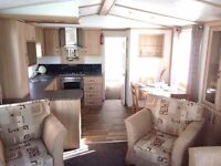 **LUXURIOUS STATIC CARAVAN WITH DG & CH FOR SALE ON NORTH WALES PREMIER BEACHSIDE HOLIDAY PARK**