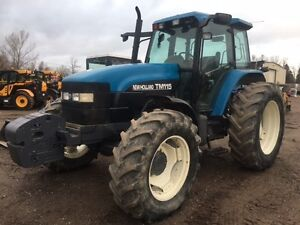 2001 New Holland TM115 4WD Tractor
