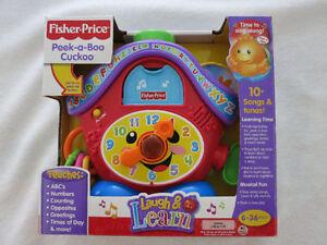 Fisher-Price Peek-a-Boo Cuckoo Clock (6 -36 months)