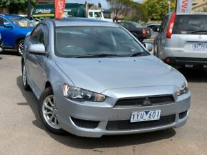 2012 Mitsubishi Lancer Silver Manual Sedan