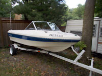 Caravelle 1985 16 ft outboard