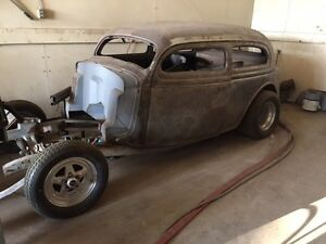1936 Ford - project hot rod