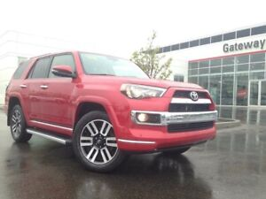 2018 Toyota 4Runner Limited 7 Passenger 4dr 4x4, Navi, Heated/Ve