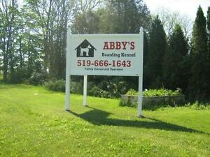 Abby's Boarding Kennel London Ontario image 1