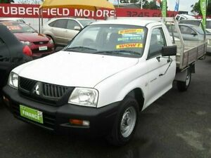 2005 Mitsubishi Triton White Manual Utility Woodridge Logan Area Preview
