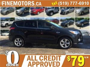 2013 FORD ESCAPE SE * 4X4 * ECO BOOST * CAR LOANS FOR ALL CREDIT London Ontario image 3
