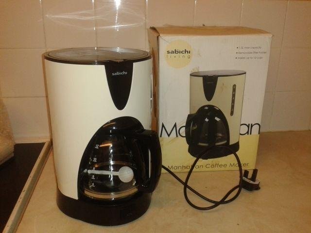 Sabichi Manhattan Coffee Maker Boxed Unused 163 10