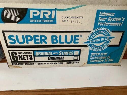 "Super Blue Nets Fits Presses 49-50"" XC30SBNETS 10 Nets Free Shipping"