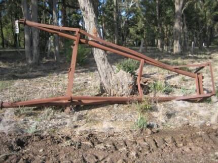 Tree Pusher to suit International Dozer. Smythes Creek Golden Plains Preview