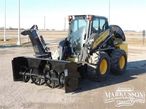 MK Martin SSB76 Skid Steer Snow Blower - Fits Bobcat, Deere, Cat