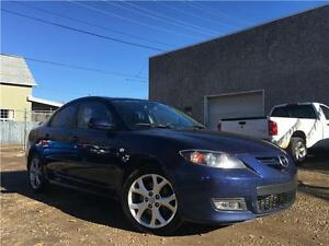 2008 Mazda Mazda3 GT = 152K = AUTOMATIC = SUNROOF = HEATED SEATS Edmonton Edmonton Area image 1