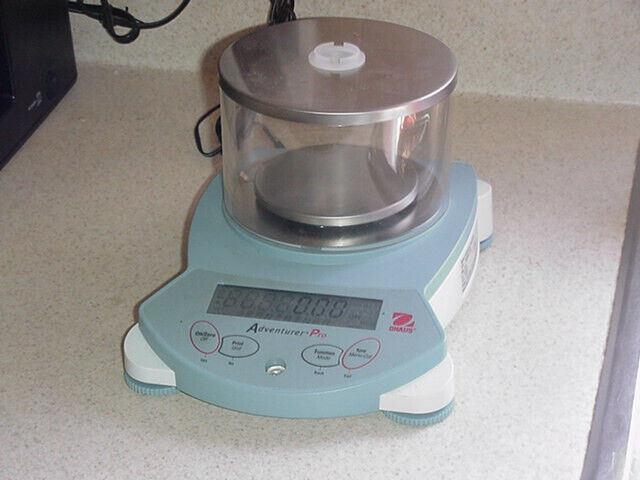 Ohaus Adventure Pro AV53 Laboratory Scale With Power Supply And Operating Manual