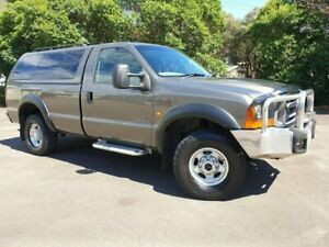 2001 Ford F250 4x4 XLT Charcoal 4 Speed Automatic Utility Homebush West Strathfield Area Preview