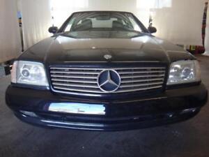 2001 Mercedes-Benz SL-Class 5.0L