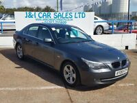 BMW 5 SERIES 2.0 520D SE 4d AUTO 175 BHP jandicarsplymouth.co.u (grey) 2008