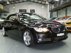 2008 BMW 335i E93 Sapphire Black 6 Speed Auto Steptronic Convertible Seven Hills Blacktown Area Preview