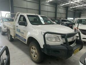 2013 Holden Colorado RG MY13 LX Olympic White 5 Speed Manual Cab Chassis Boolaroo Lake Macquarie Area Preview