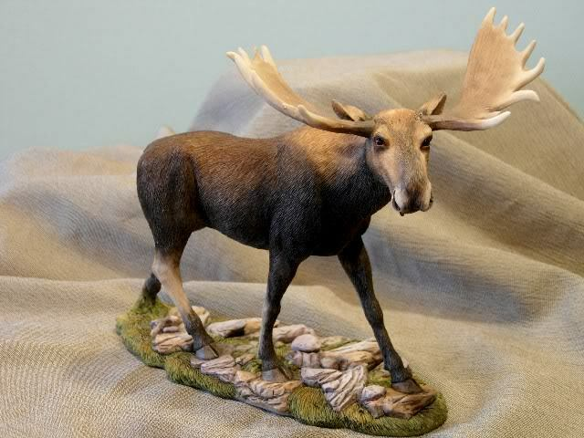 Retired Country Artists, Moose Figurine 04202 Brand New in Box