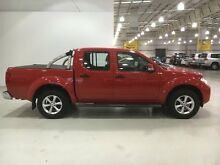 2013 Nissan Navara D40 S6 MY12 ST Red 6 Speed Manual Utility Edgewater Joondalup Area Preview