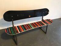 Snowboard Bench Seat