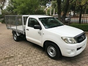 2009 Toyota Hilux GGN15R 09 Upgrade SR 5 Speed Automatic Cab Chassis Kent Town Norwood Area Preview