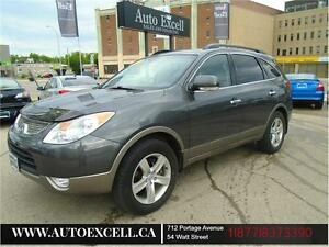 2010 Hyundai Veracruz GLS SUNROOF ALLOYS 3.8L AWD