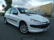 2006 Peugeot 206 XR White 5 Speed Manual Hatchback Malaga Swan Area Preview