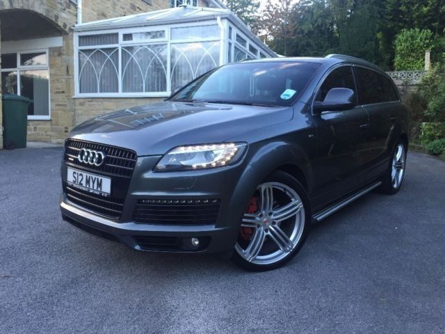 Audi Q7 s line Plus, 2013 FACELIFT (All Audi Parts used) Full Service History Gun metal Grey 2007