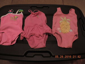 Girl's Size 12-18months Swim Suits