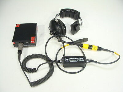 David Clark General Dynamics Communications Headset For Mbitr An Prc 148   More