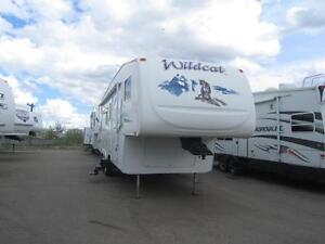 2006 FOREST RIVER RV WILDCAT 31QBH 5TH WHEEL