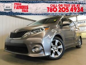 2017 Toyota Sienna SE. Text 780-205-4934 for more information!