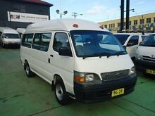 2003 Toyota Hiace RZH125R Commuter White 4 Speed Automatic Bus Canada Bay Canada Bay Area Preview