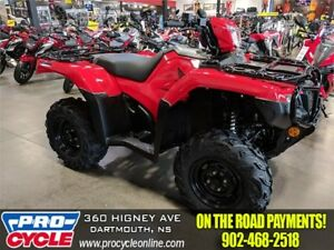 2018 Honda Rubicon 500 $54/Week OTR