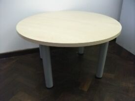 Round Reception of Coffee Table . Size : H=47cm , Diameter=85cm .