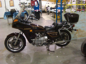 VINTAGE 1981 GOLD WING  47297 original mileage