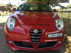 2013 Alfa Romeo Mito MY12 Progression TCT Red 6 Speed Sports Automatic Dual Clutch Hatchback Croydon Burwood Area Preview