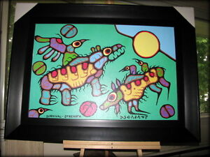 Norval Morrisseau canvas giclee limited edition