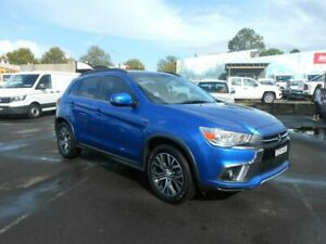 2017 Mitsubishi ASX XC MY18 LS 2WD Electric Blue 6 Speed Constant Variable Wagon