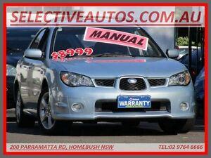 2005 Subaru Impreza MY06 2.0R (AWD) Blue 5 Speed Manual Hatchback Homebush Strathfield Area Preview