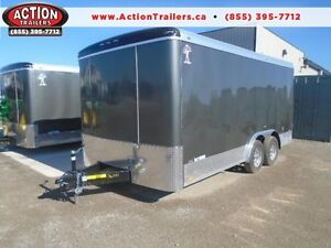 GET MORE TRAILER FOR LESS $ 2017 ATLAS 8X16 CONSTRUCTION TRAILER London Ontario image 1