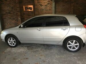 2003 Toyota Corolla ZEE122R Conquest Silver Manual Hatchback Wauchope Port Macquarie City Preview