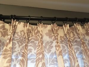 Pleat Top Curtains - Made by Covers London Ontario image 1