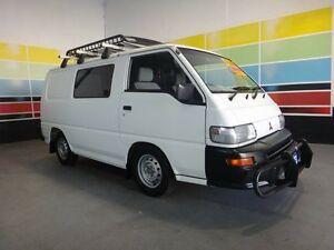 2007 Mitsubishi Express SJ MY07 SWB White 5 Speed Manual Van Wangara Wanneroo Area Preview