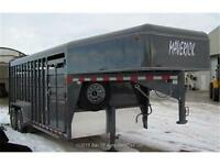 ALL NEW 2015 Maverick Steel Heavy-Duty Gooseneck 20' Stock Trail