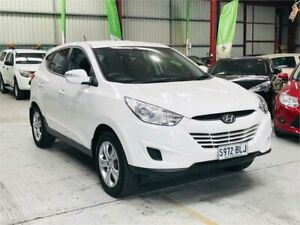 2012 Hyundai ix35 LM MY12 Active White 6 Speed Sports Automatic Wagon Mawson Lakes Salisbury Area Preview