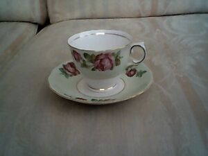20% Off Sale on Antique Bone China Teacups/Saucers - Part 4