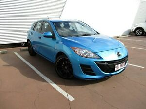 2009 Mazda 3 BK10F2 MY08 Neo Sport Blue 4 Speed Sports Automatic Hatchback Toowoomba Toowoomba City Preview