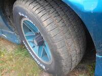 15 inch Camaro tires & rims