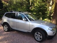 REDUCED! 2006 BMW X3 2.0d 4x4 estate 6 manual